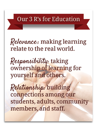 3 R's for Education
