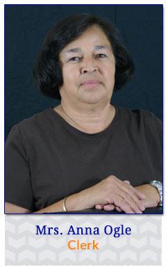Mrs. Anna Ogle - Clerk